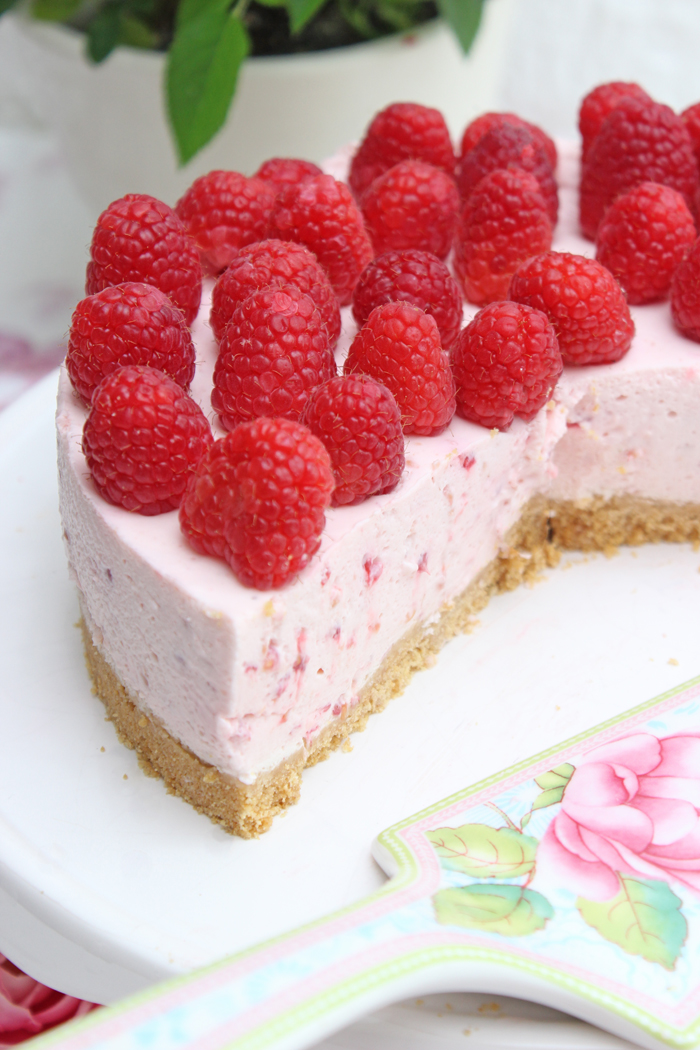 Himbeer-Cheesecake | No Bake Cake
